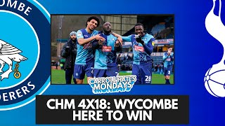 🔴 CHM 4X18: WYCOMBE HERE TO WIN