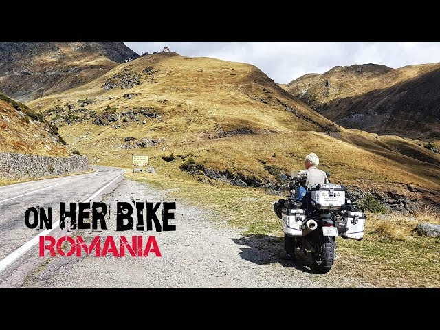 Romania. On Her Bike Around the World. Episode 19