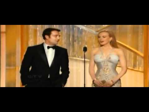 Woody Allen win Best Screenplay for Midnight in Paris - Golden Globes 2012