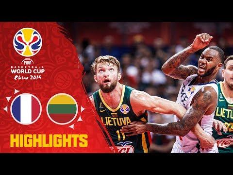 France V Lithuania - Highlights - FIBA Basketball World Cup 2019