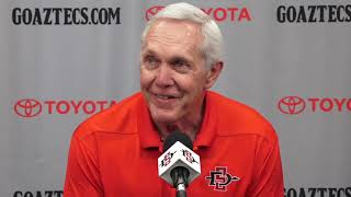 SDSU FOOTBALL: ROCKY LONG - UTAH STATE PREVIEW