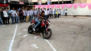 Great Bike stunt