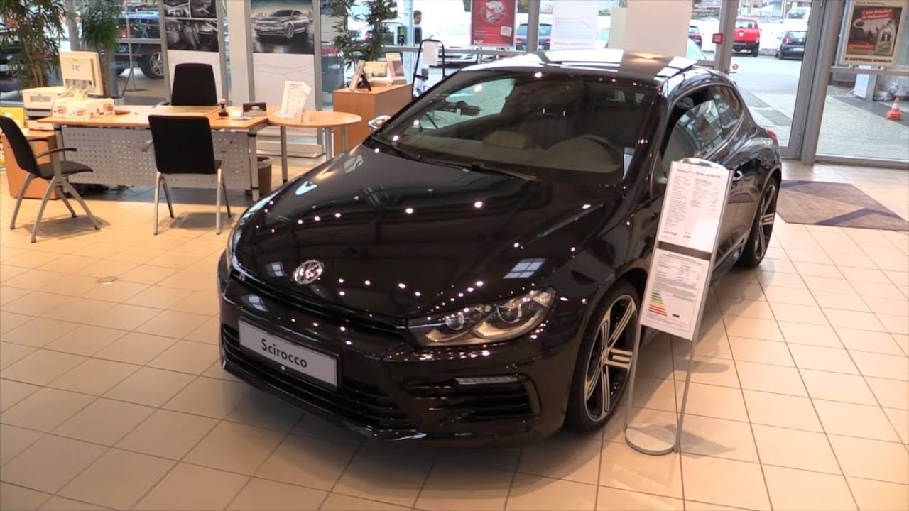 Volkswagen Scirocco R 2015 In Depth Review Interior