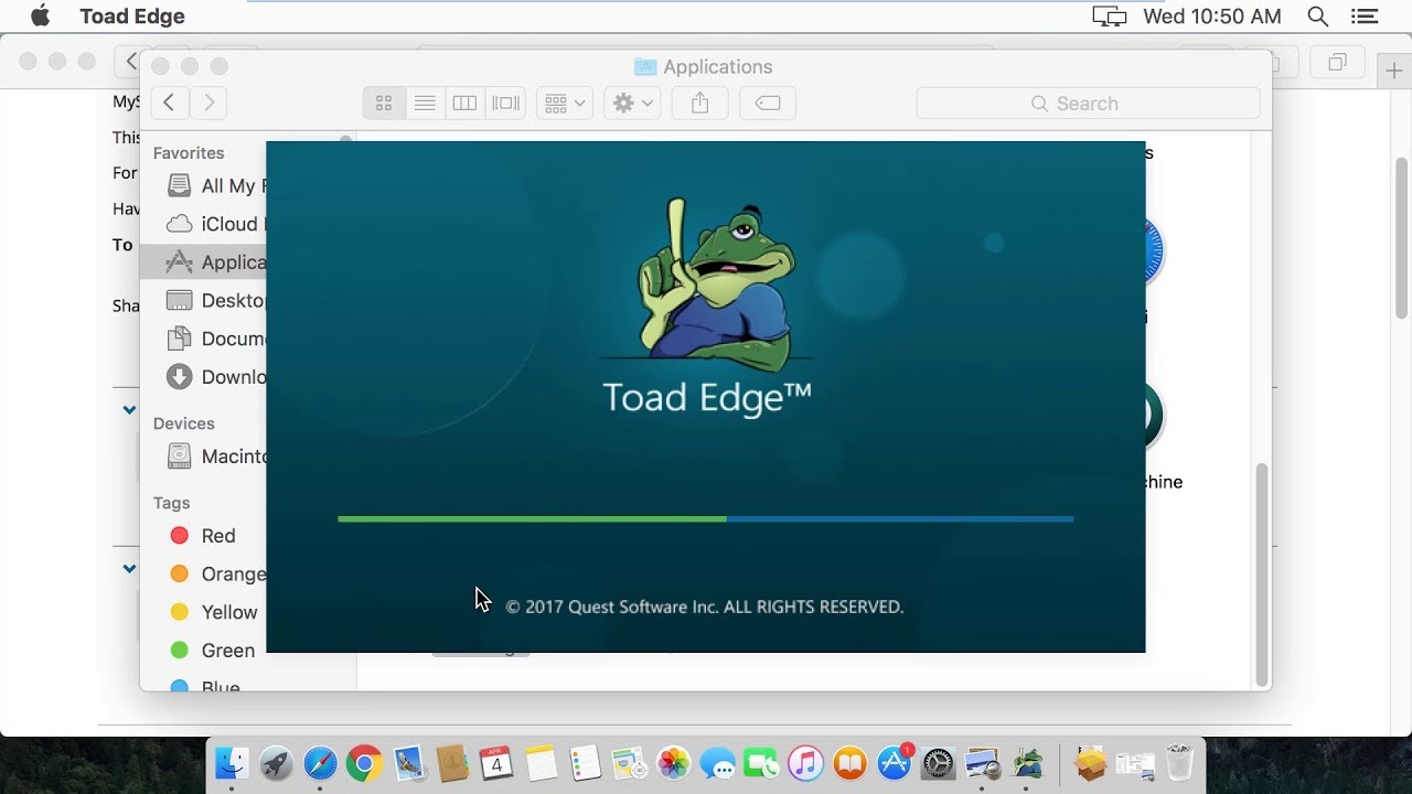 Toad Edge installation for Mac