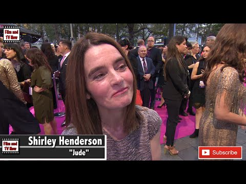 Shirley Henderson discusses the friends in Bridget Jones's Baby at the world premiere