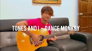 Tones and i - Dance Monkey (cover) - Anwar Amzah