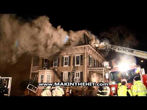 K-Ville Hotel Fire, Heidelberg Twp. Lebanon County, PA 04.01.2015