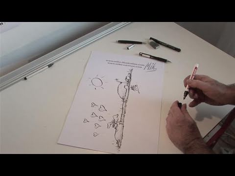 How To Design A Cartoon Giraffe