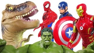 Marvel the Avengers! If we join forces, it's about dinosaurs! - DuDuPopTOY