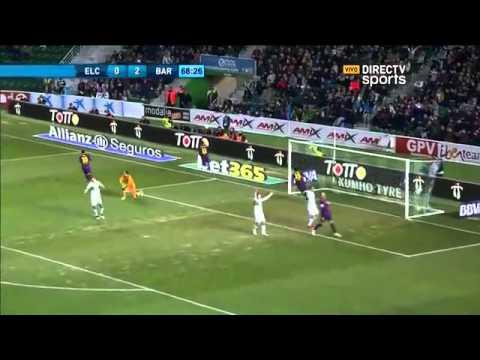 Elche 0 - 6 Barcelona Liga BBVA - ESPN