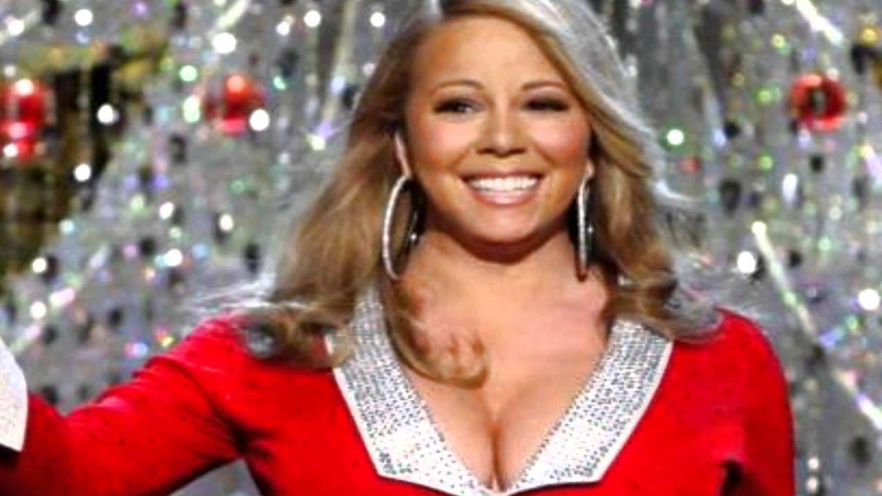 Mariah Carey Christmas Song Live Performance Rockefeller Center ...