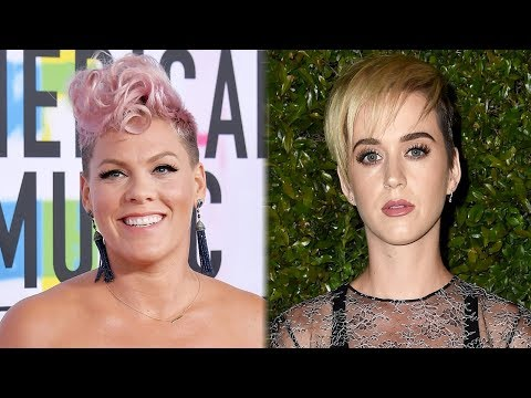 "Pink, Katy Perry & More SLAM Grammys President For Telling Women To ""Step Up"""