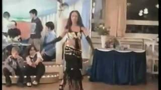 BELLY DANCE  قص بنت عارىة. بدون ملابس داخلية
