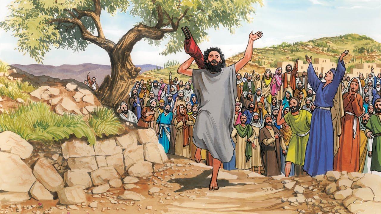 19 - Jesus Heals the Paralytic (Spanish) - YouTube