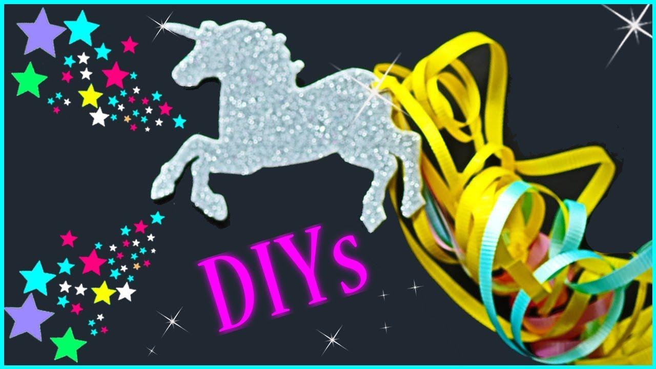 5 UNICORN DIYs YOU NEED TO TRY!! DIY Unicorn School ...