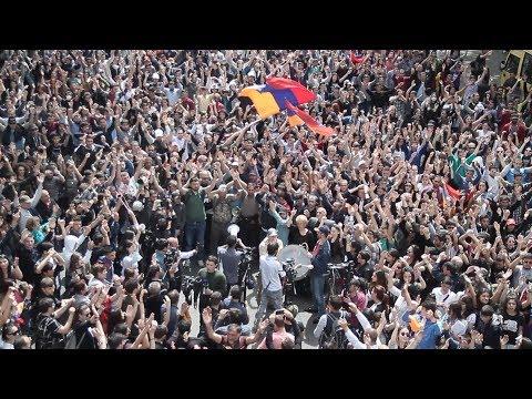 People's Velvet Revolution Faces Police Violence