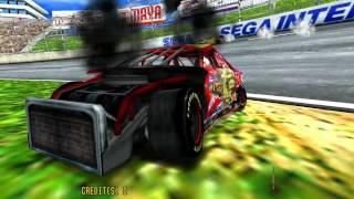 Daytona USA 2 Power Edition, Attract Mode (widescreen)