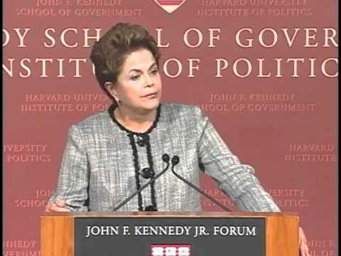 A Public Address by President of Brazil Dilma Rousseff || Institute of Politics