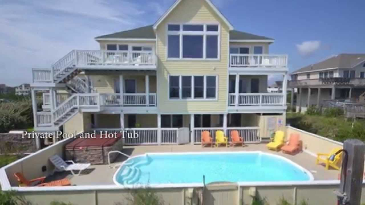 Belle Of The South 644 Oceanfront Home In Corolla Nc