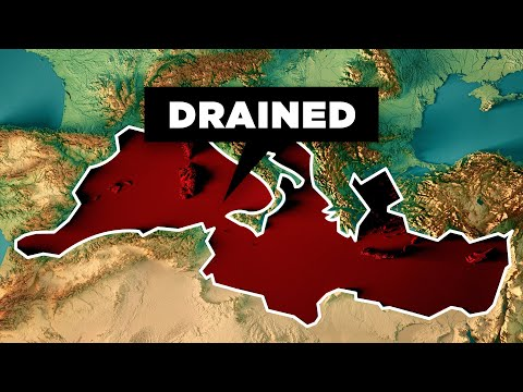 What Would Happen If We Drained the Mediterranean Sea?