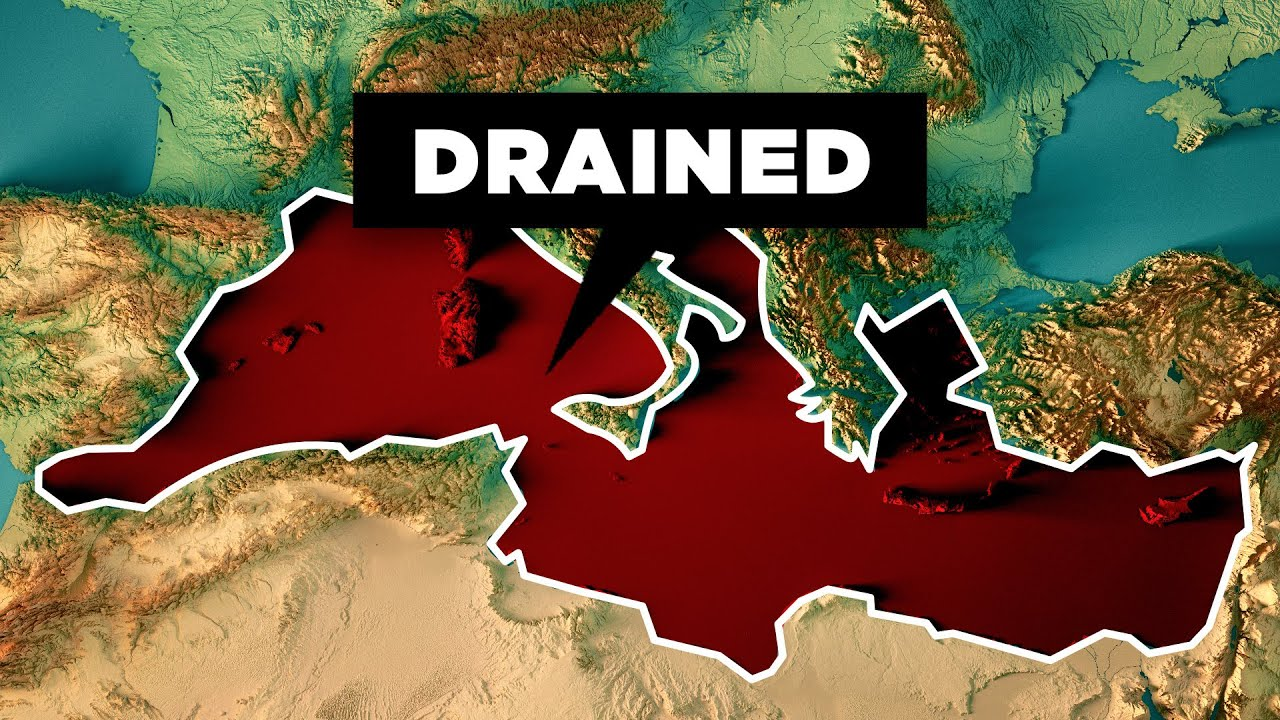 What Would Happen If We Drained the Mediterranean Sea YouTube