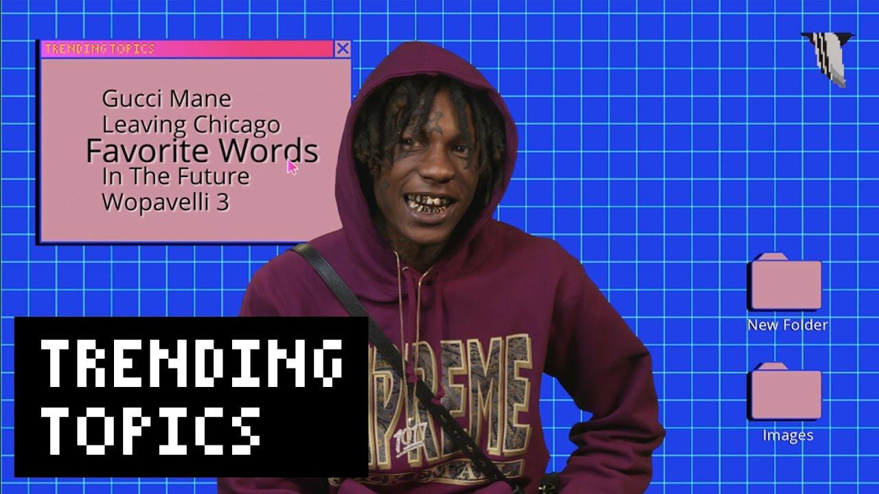 2fbe587cedd4c1 Lil Wop on Gucci Mane