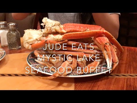 Jude Eats: Crab Legs & Oysters, Mystic Lake Seafood Buffet/Minnesota