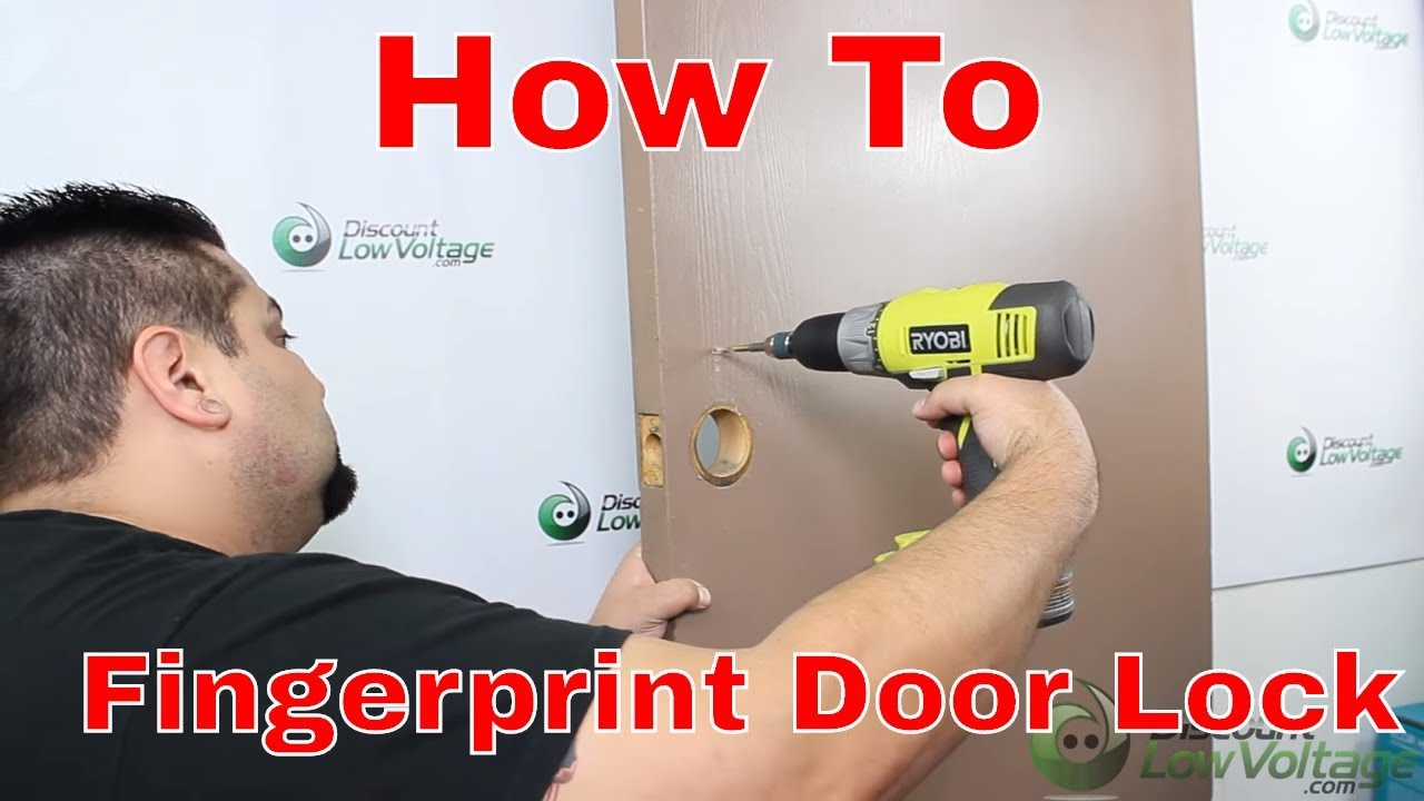 How To Install Your Own Biometric Fingerprint Door Lock