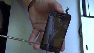 Разбито стекло на Asus A400CG (Asus ZenFone 4). Как поменять только тачскрин на Asus ZenFone 4?