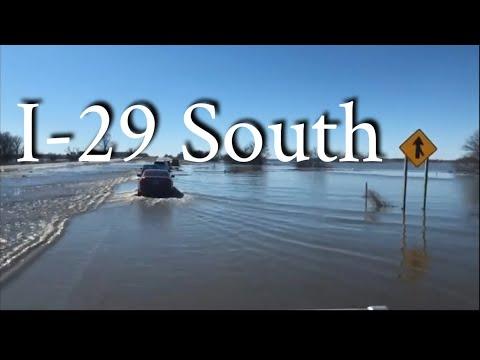 American Truckers - Truck Driver Vs Midwest Flood 2019 Nebraska Iowa Missouri
