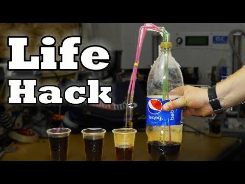 Geniale Drink Dispenser LifeHack!