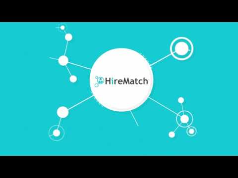 HireMatch - a blockchain powered, decentralized, crowdsourced job market place.