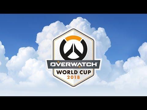 Overwatch World Cup Paris 2018 - Day 2