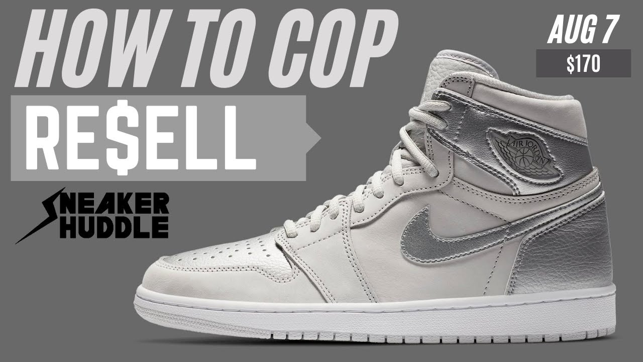 "Air Jordan 1 CO.JP ""Neutral Grey"" How to Cop + Resell Prediction"