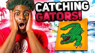FORTNITE PLAYERS FIND REAL FLORIDA GATORS - Misfits Academy Bootcamp