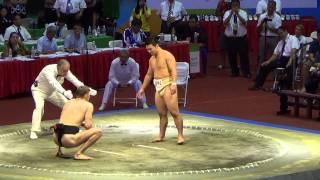 Сумо.Чемпионат мира по Сумо 2014  (POL vs  JPN)