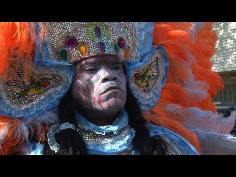 NOLA Mardi Gras Indian Super Sunday 2013 in HD