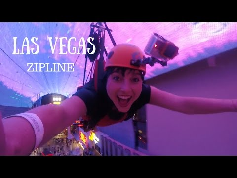 Downtown Las Vegas Zipline - Slotzilla