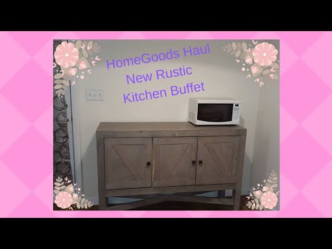 Hauling my new kitchen island from Homegoods plus kitchen ...