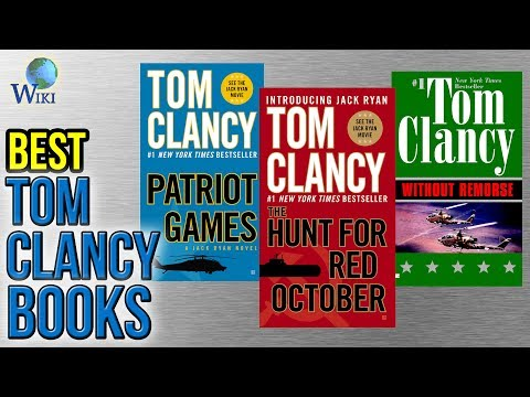 10 Best Tom Clancy Books 2017