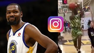Kevin Durant CALLS OUT Bronny JR's Basketball Skills on Instagram