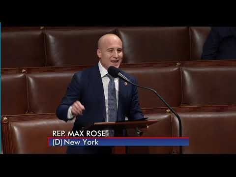 Congressman Max Rose Urges Passage of HR3 to Lower Drug Costs