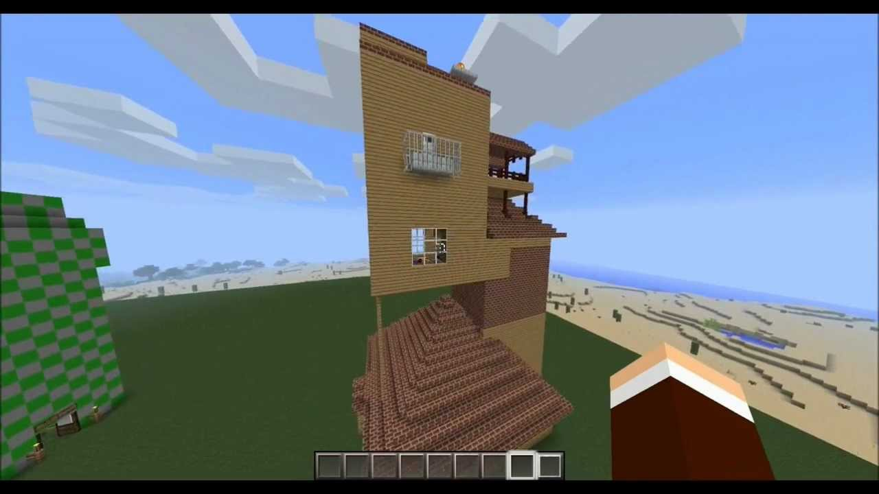 How To Build The Burrow In Minecraft