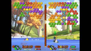 Worms Blast - Gameplay Gamecube HD 720P (Dolphin GC/Wii Emulator)