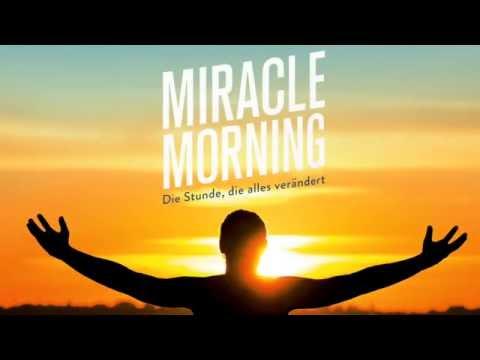 Miracle Morning YouTube Hörbuch Trailer auf Deutsch