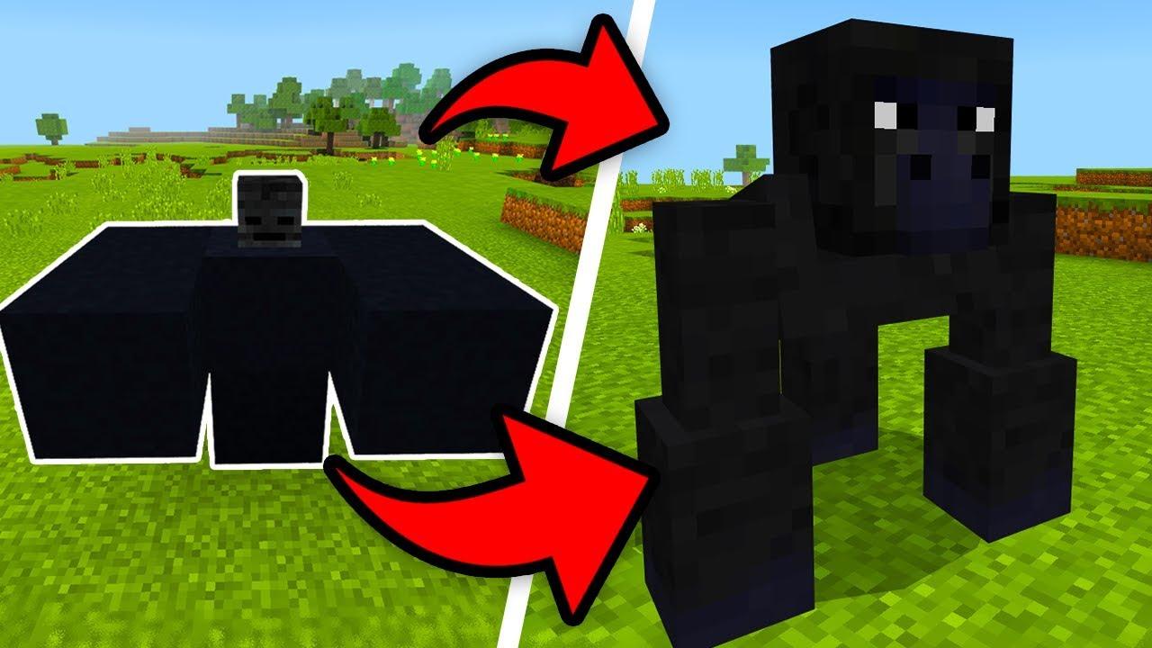 how to make harambae in minecraft