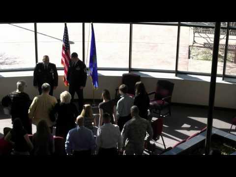 MSgt Kevin Garrett's Retirement Ceremony