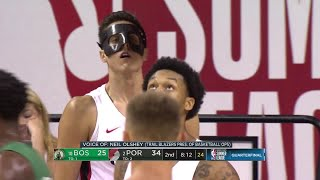 2nd Quarter, One Box Video: Portland Trail Blazers vs. Boston Celtics
