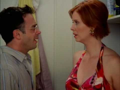 Image result for sex and the city miranda and steve
