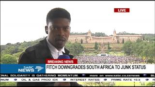UPDATE: Anti-Zuma protesters gather outside Union Buildings